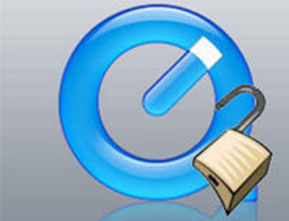 Mange sårbarheter fjernet fra QuickTime