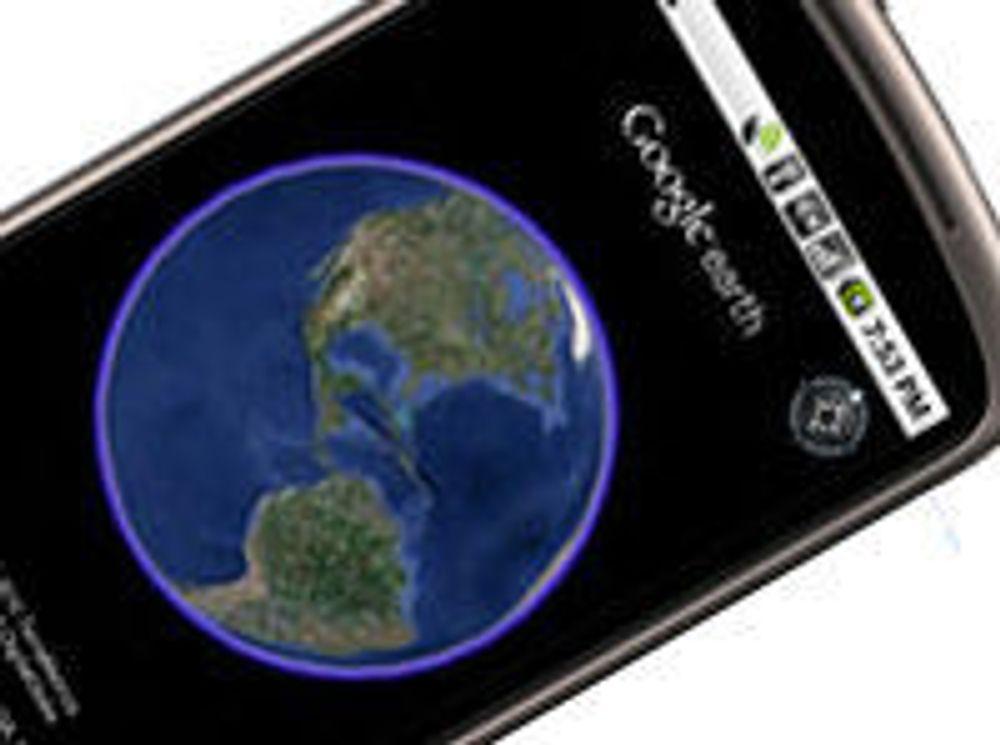 Google Earth er klar for Android