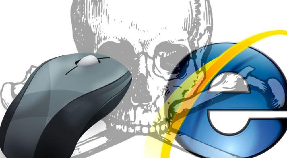 En hvilken som helst nettside kan overvåke muspekeren din gjennom en feil i Internet Explorer, advarer selskapet Spider.io.