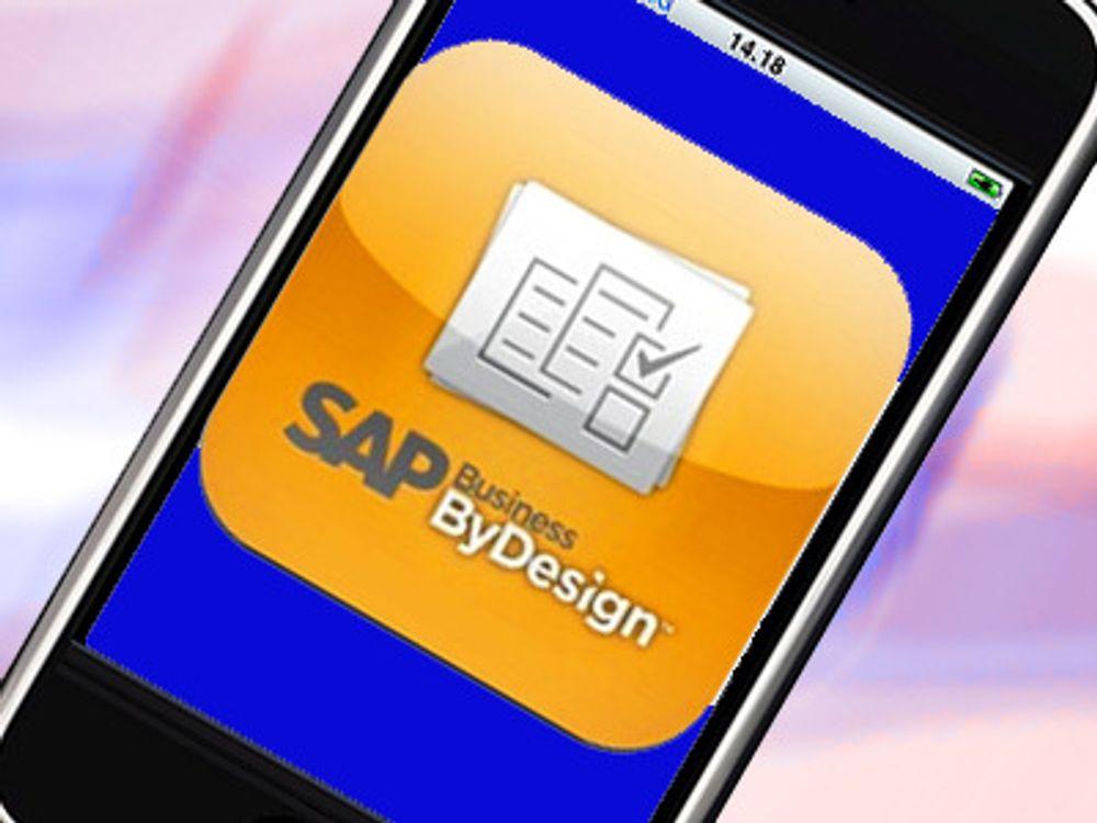 SAP tilbyr app til iPhone