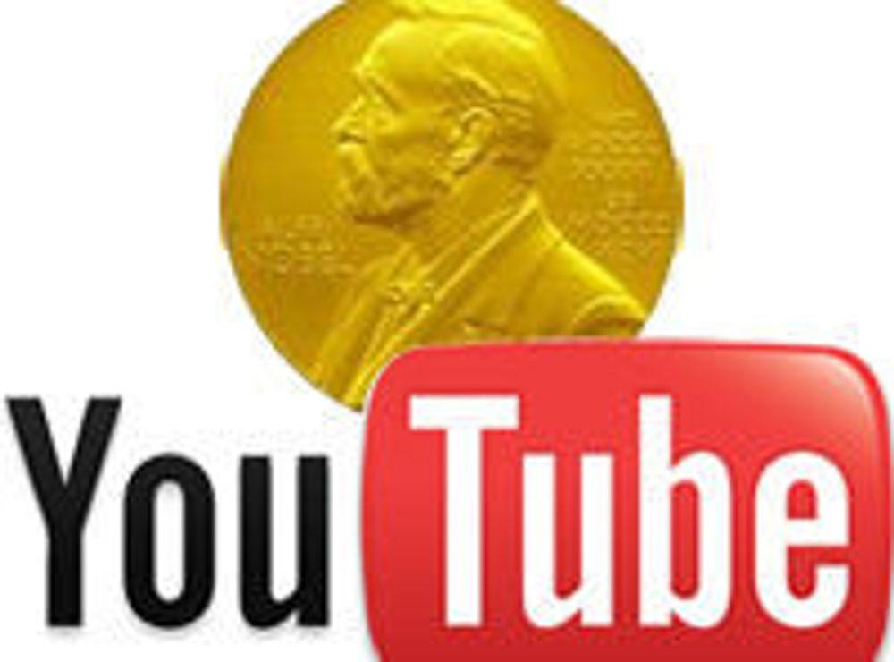 Nobelprisen direkte på Youtube