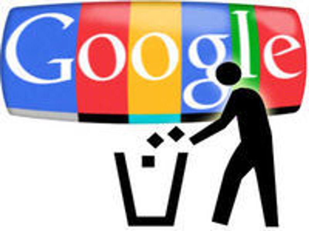 Google fjerner nettsøppel