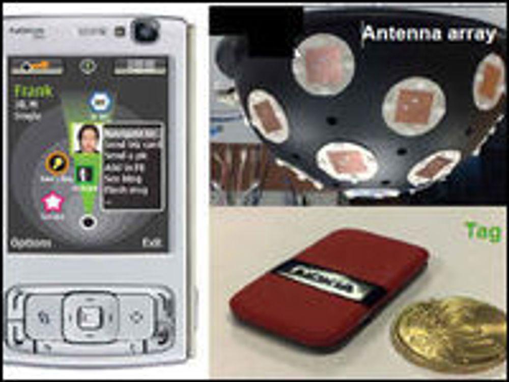 Nokias system for innendørs posisjonering med nøyaktighet på én til to meter.