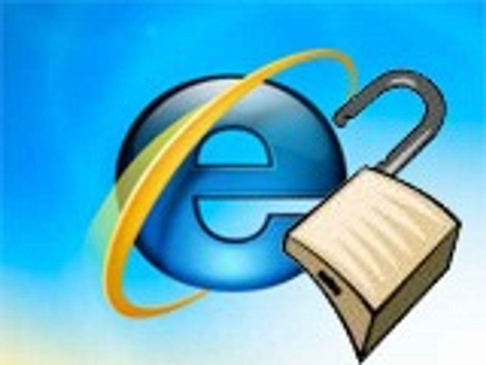 Alvorlig sårbarhet i Internet Explorer