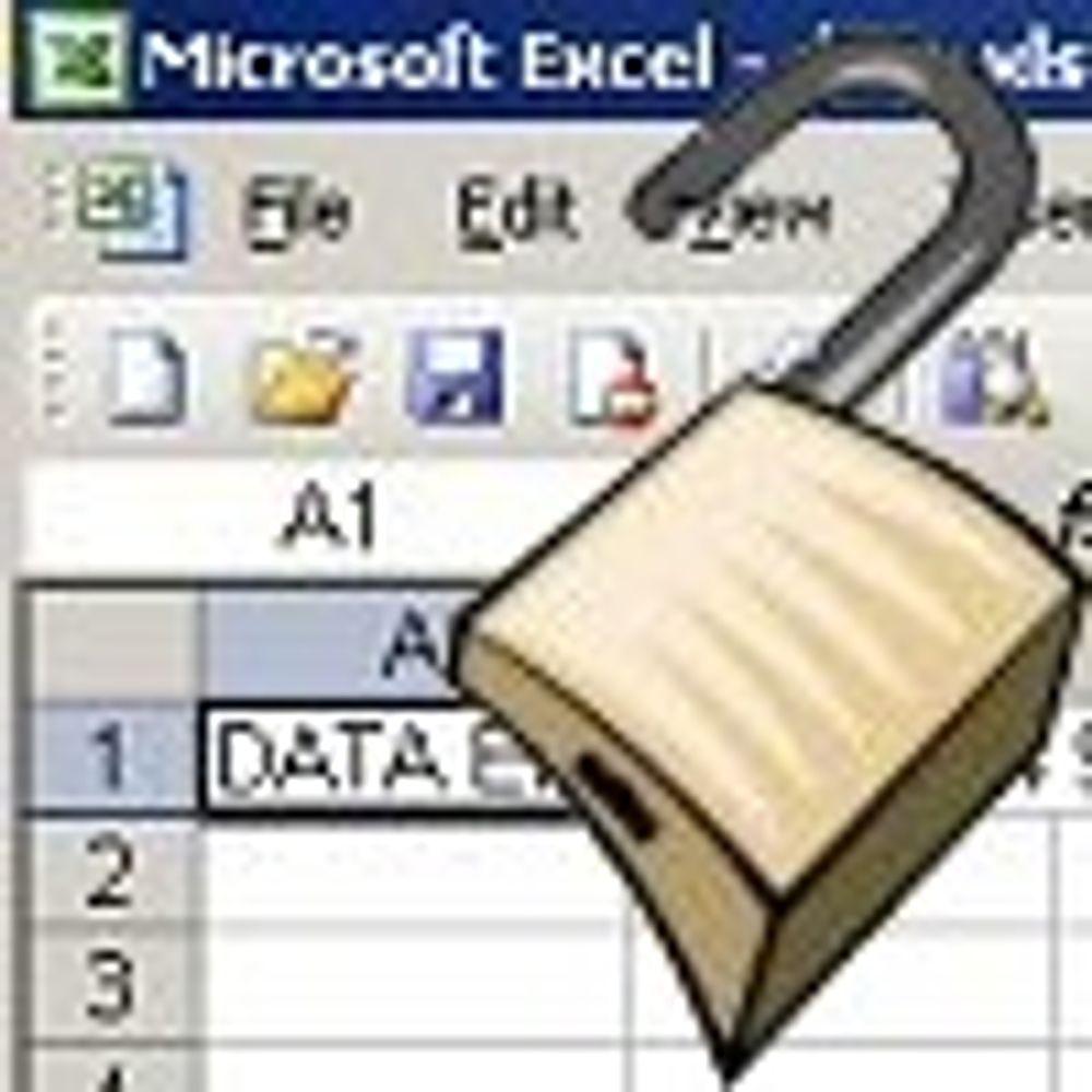 Råder til forsiktighet med Excel-dokumenter