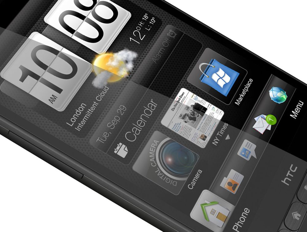 Kraftig Windows-mobil fra HTC