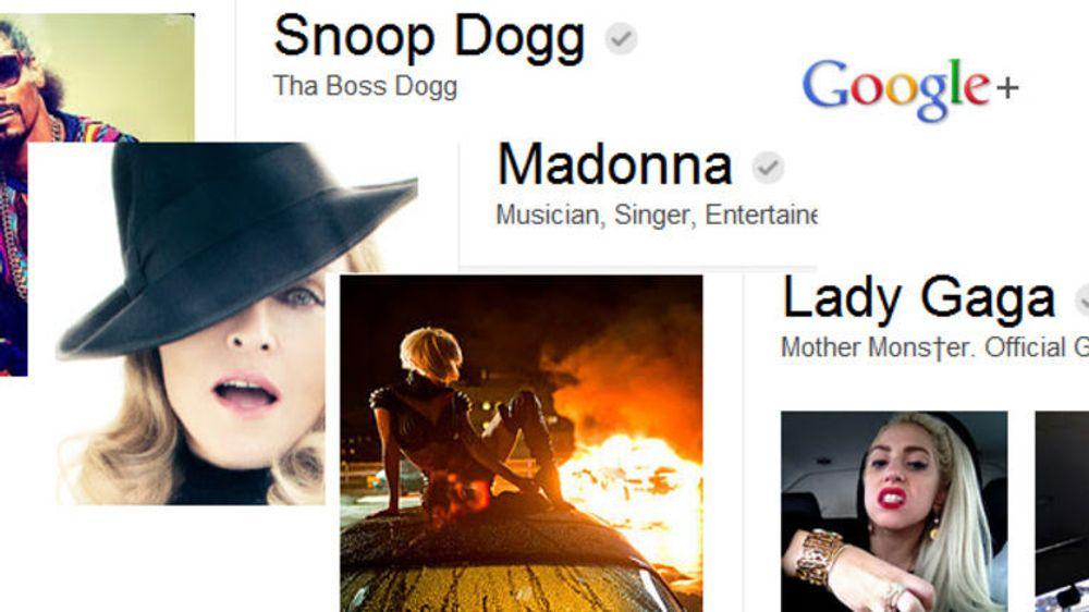 Man behøver ikke være superkjendis for å få bruke et pseudonym på Google+, men det hjelper nok.