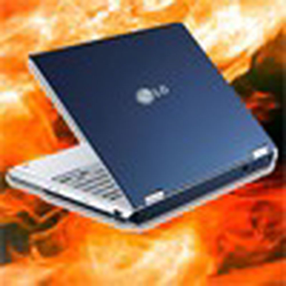 Brann i PC-batteri var éngangstilfelle
