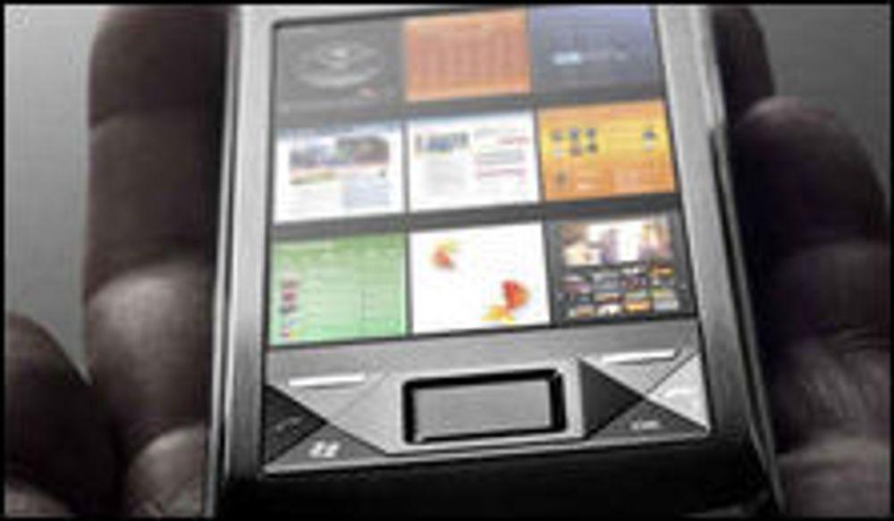Sony Ericsson satser på Windows Mobile