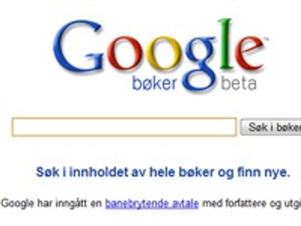 Duket for kraftig oppgjør om Googles bokavtale