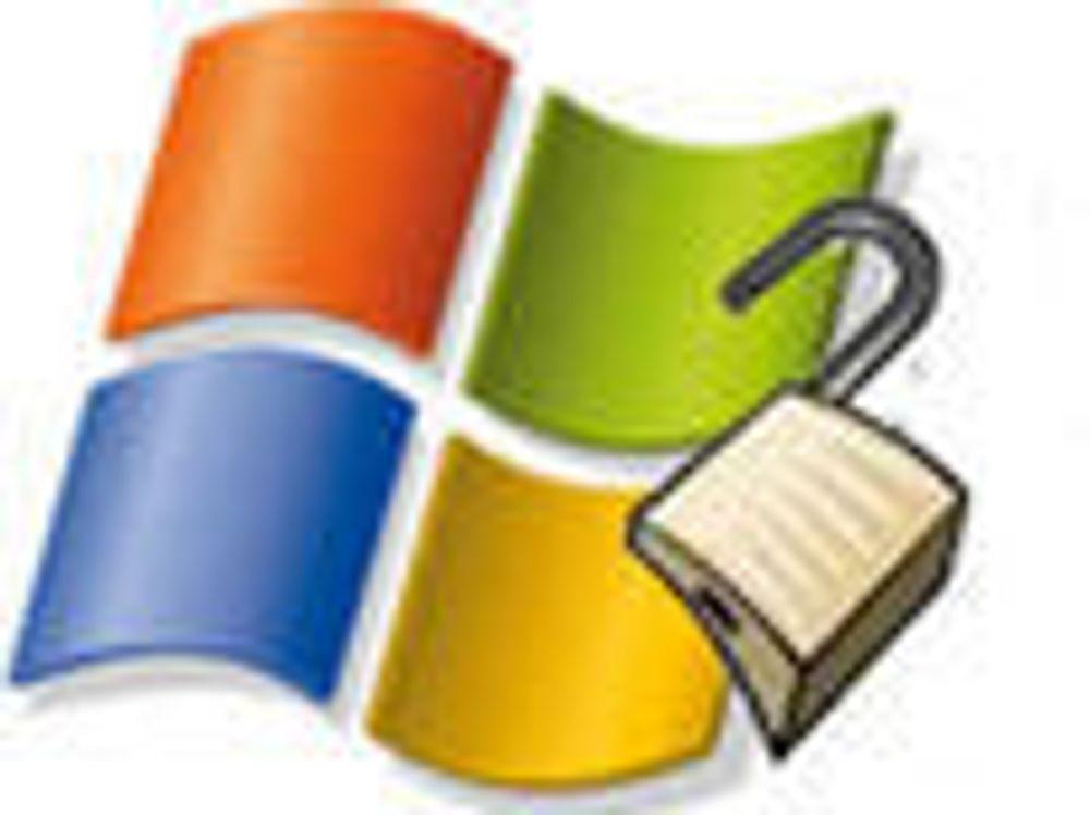 Skal fjerne serie med sårbarheter i Windows