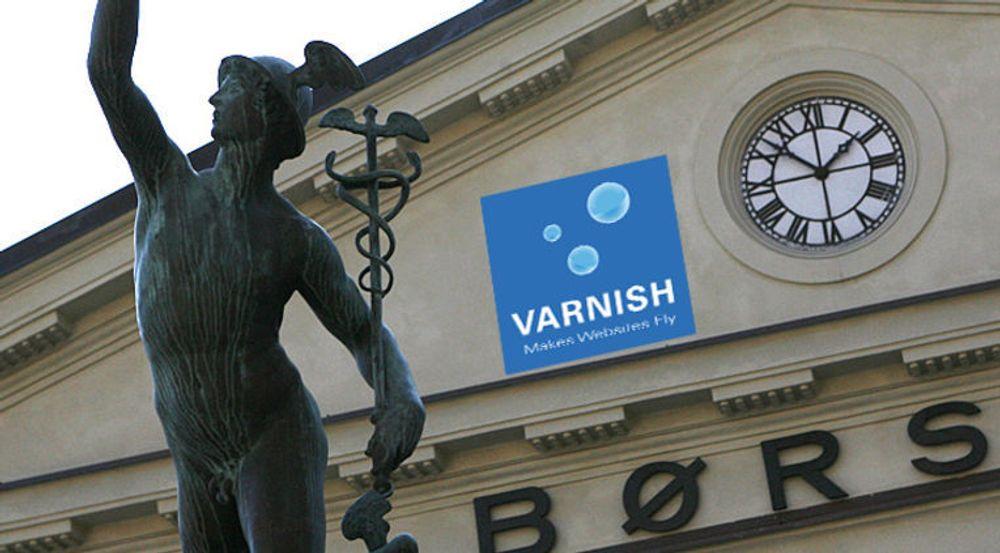 Oslo Børs er blant referansekundene til Varnish, i tillegg til blant annet Facebook, BBC og New York Times.