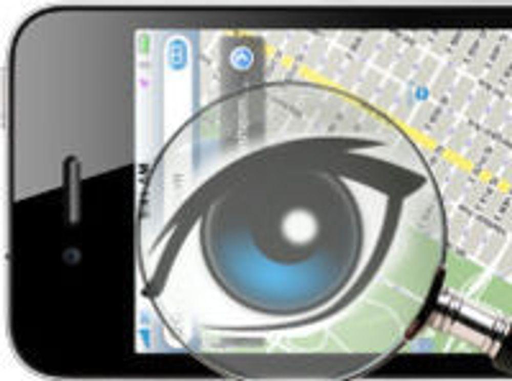 Apple overvåker iPhone-brukere
