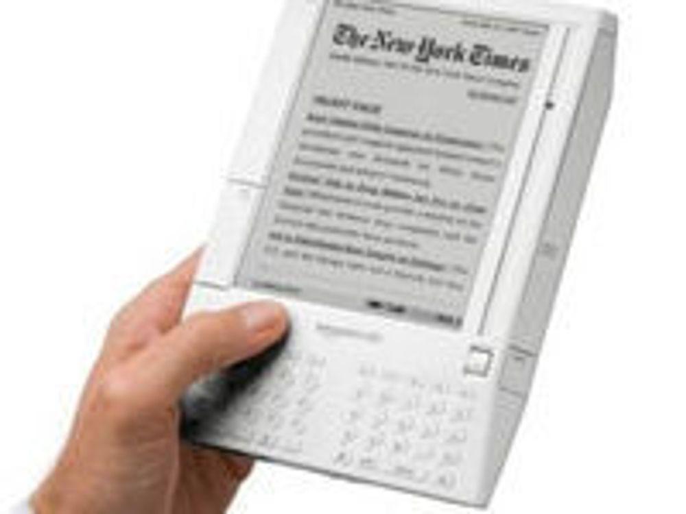 Amazon forbereder ny e-bokleser for studenter