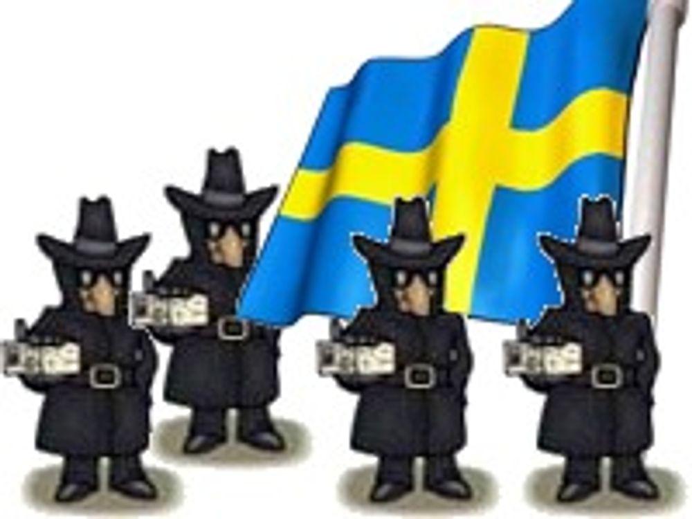 Startskudd for massiv svensk overvåkning
