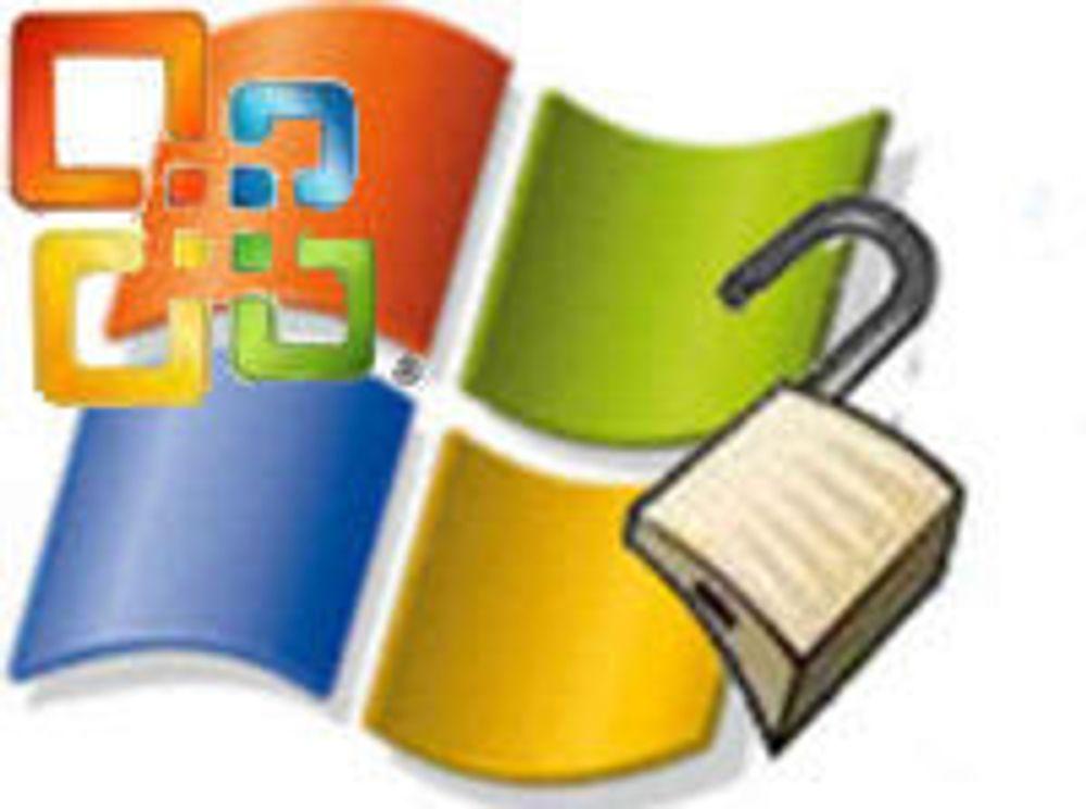 Microsoft skal tette 22 sikkerhetshull