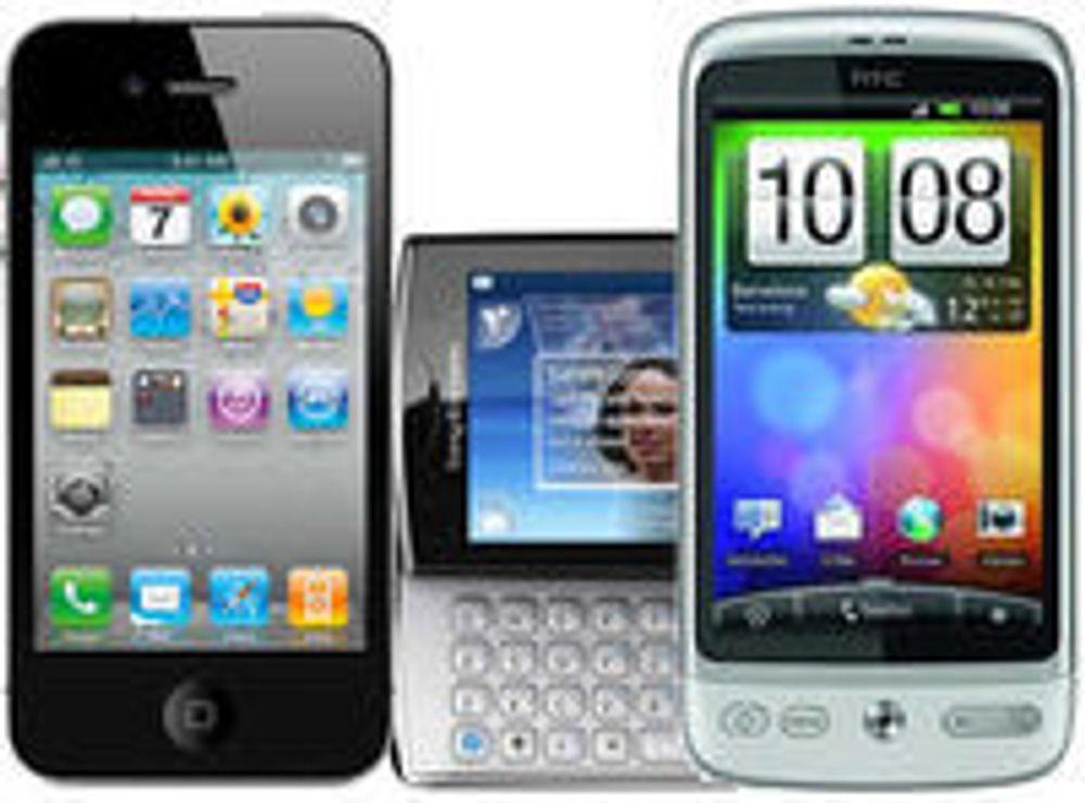 Selger 60 prosent Android