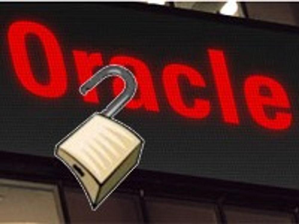 Oracle med ekstremt viktige sikkerhetfikser