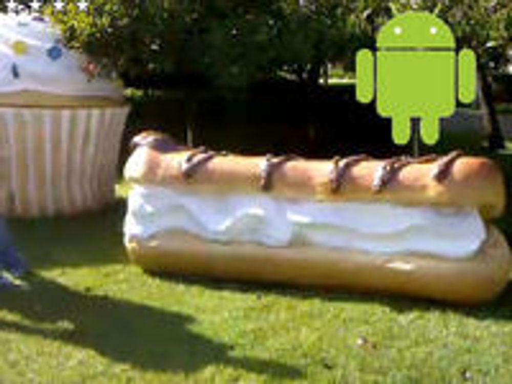 Android 2.0 kan være rett rundt hjørnet