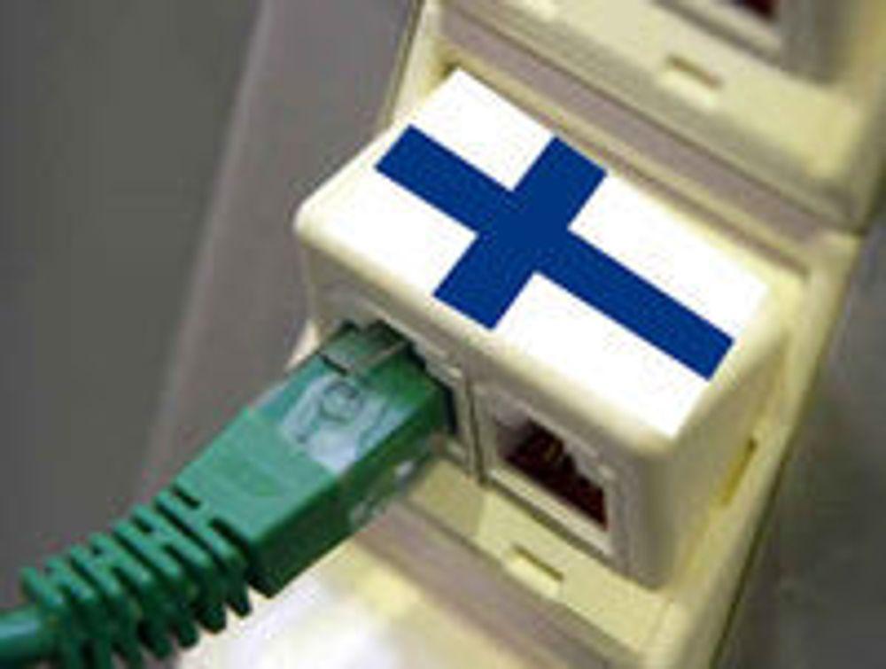 Finland gjør bredbånd til en rettighet