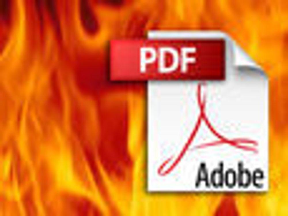 Adobe lapper 29 kritiske hull