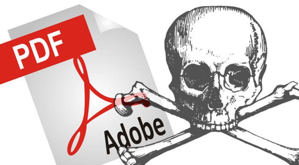 – Ikke åpne PDF-filer