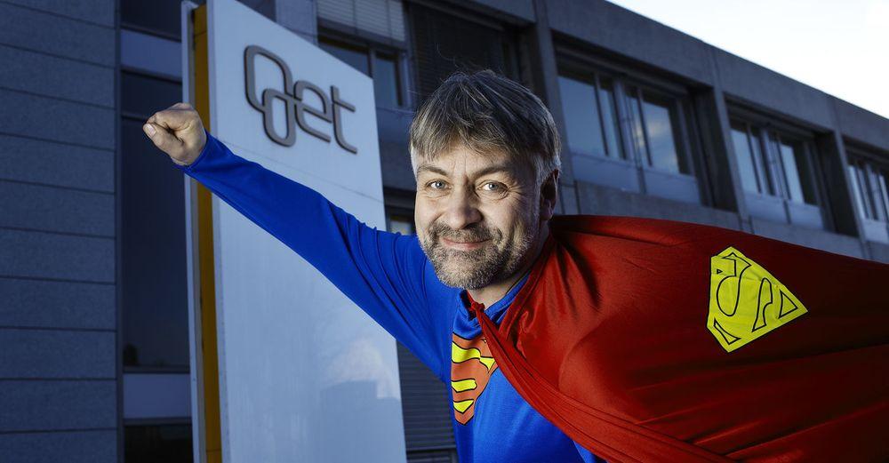 Øker farten: Administrerende direktør Gunnar Evensen i Get.