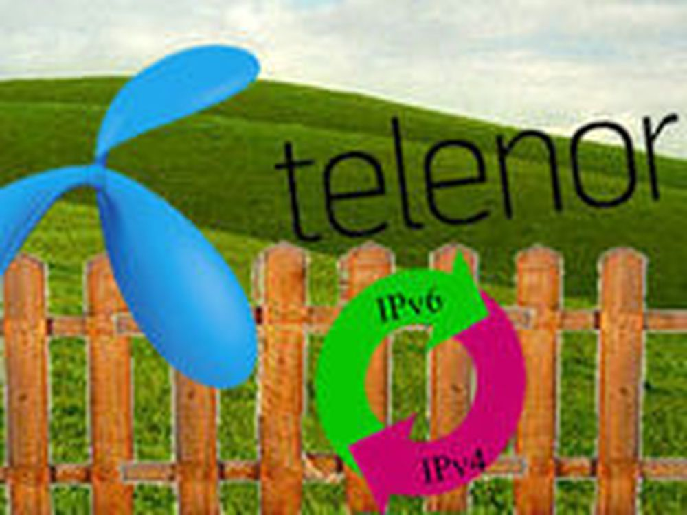 Telenor venter med IPv6