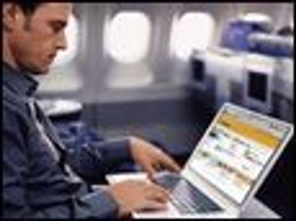 Lysdioder skal gi sikrere Internett i fly