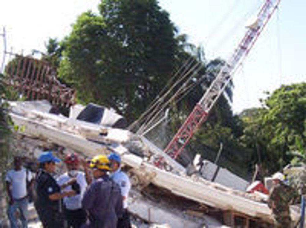 Jordskjelvet 12. januar gikk hardt ut over IKT-infrastrukturen i Haiti.