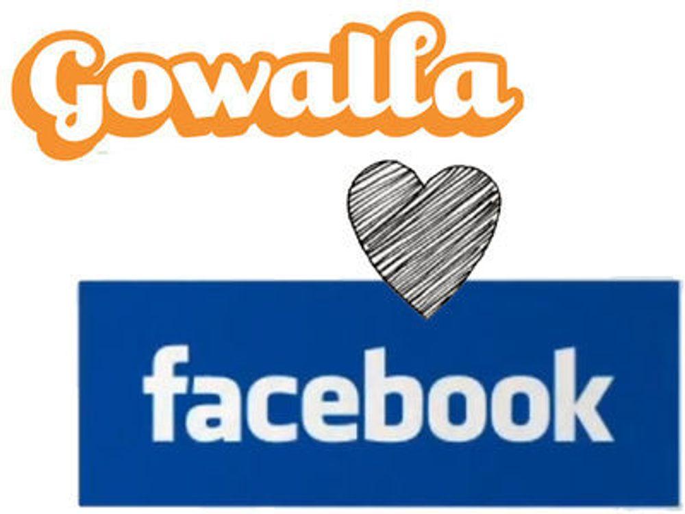 – Facebook kjøper Gowalla