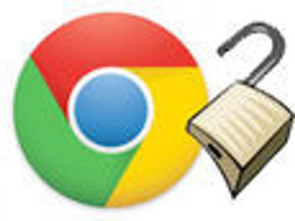 Trenger gjennom all sikkerhet i Chrome