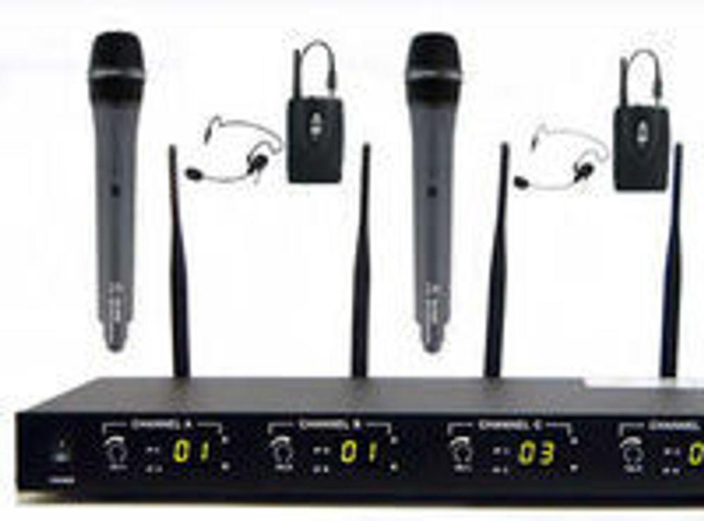 De fleste av dagens trådløse mikrofoner må trolig byttes ut.
