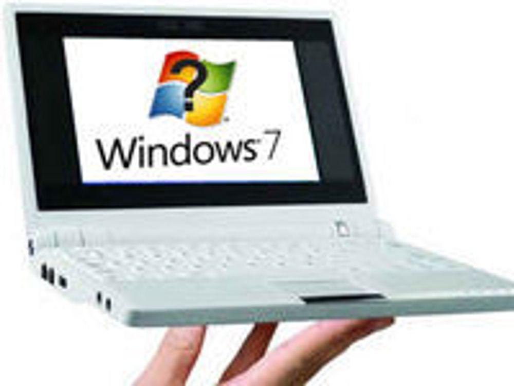 Intel skeptisk til Windows 7 på netbooks