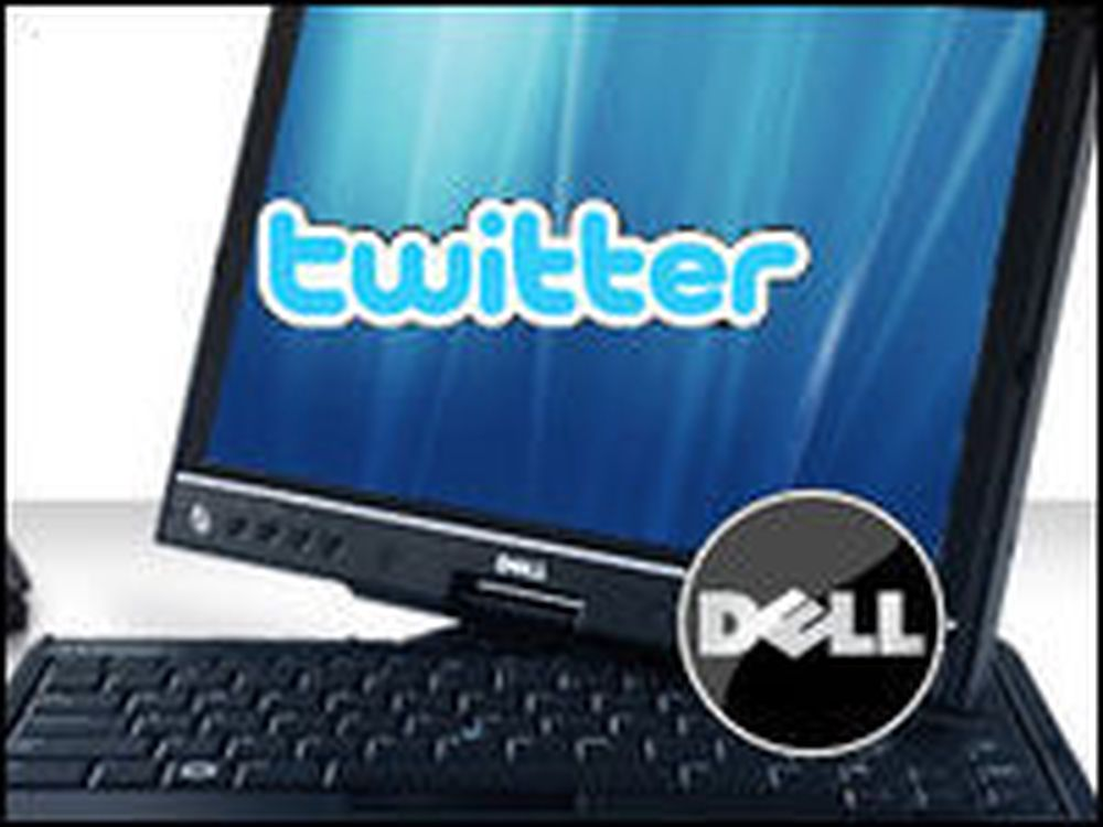 Dell bruker Twitter som salgskanal