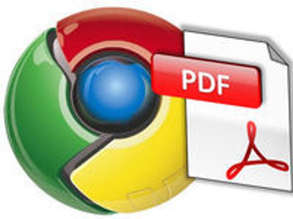 Chrome med sikrere PDF-leser