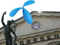 Børsras for Telenor