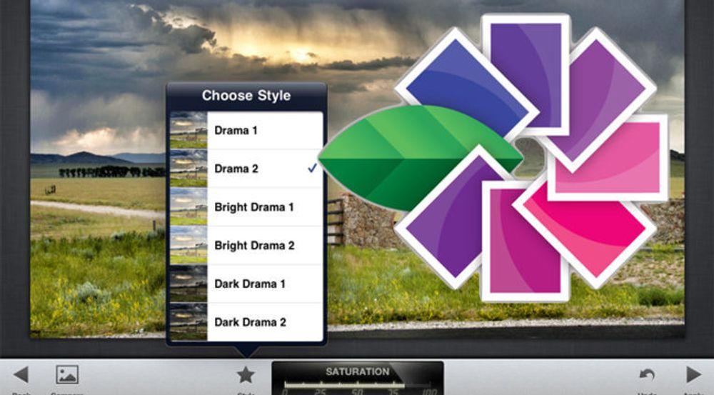 Snapseed til iPad har en lang rekke verktøy for å manipulere bilder. Nå har Google kjøpt opp utgiveren Nik Software.