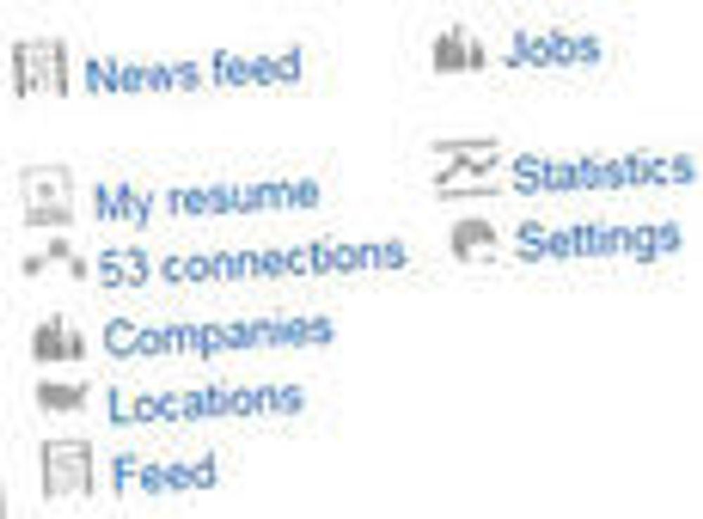 Sosiale medier populære til jobbjakt