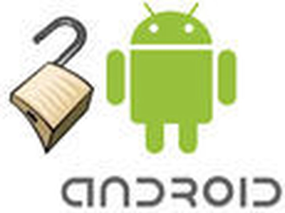 Android-mobiler lekker adgangspass