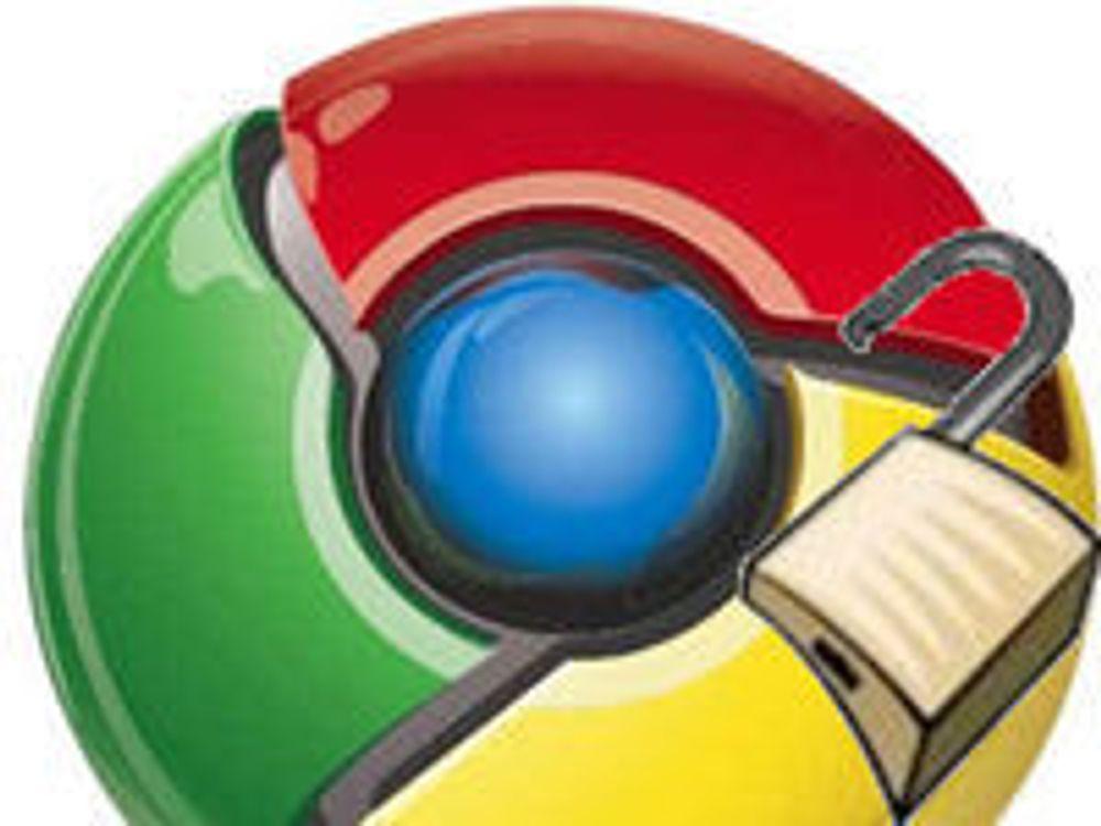 Chrome-sårbarhet utnyttes gjennom IE