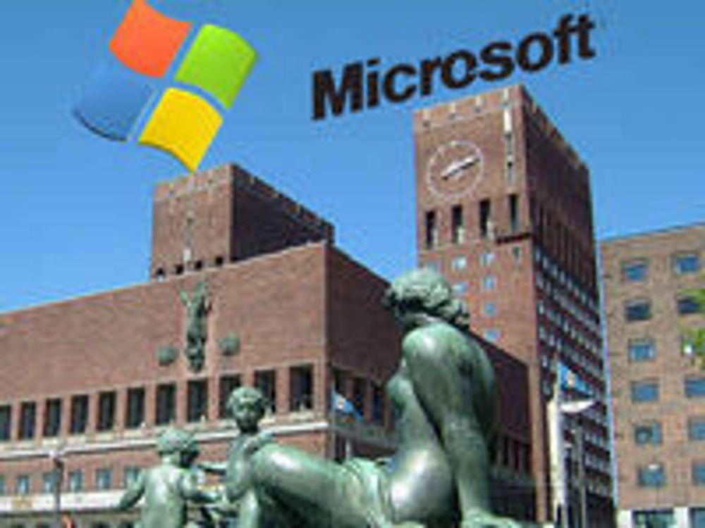 Oslo krever «bare Microsoft»