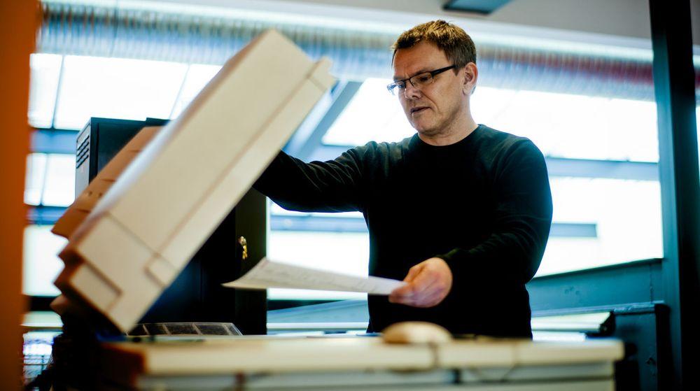 Avdelingsleder Åsmund Svinndal i Istad Tekniske Trondheim sparer ikke bare penger på sine voksskrivere. Han brukte innføringen av voksskrivere som bidrag til å oppnå sertifisering som «miljøfyrtårn».