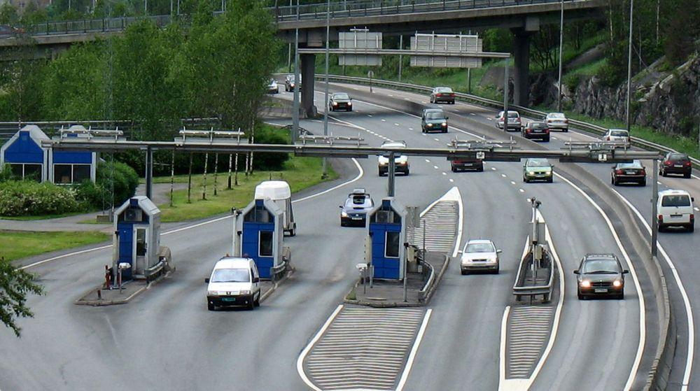 Bomringen rundt Oslo benytter Q-Free, her fra bomstasjonen på E6 ved Abildsø.