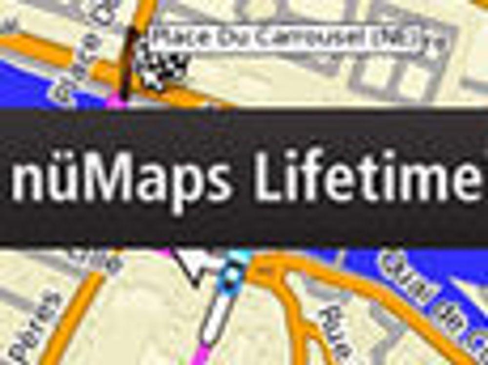 Billigere å oppdatere GPS-ens kart