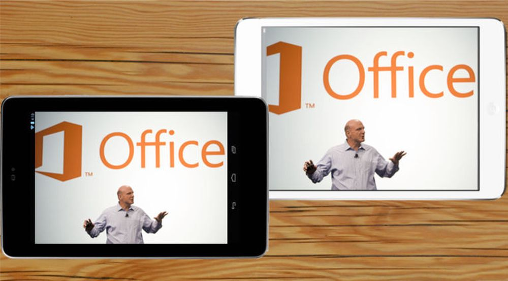 – Office til Android og iOS blir «gratis»