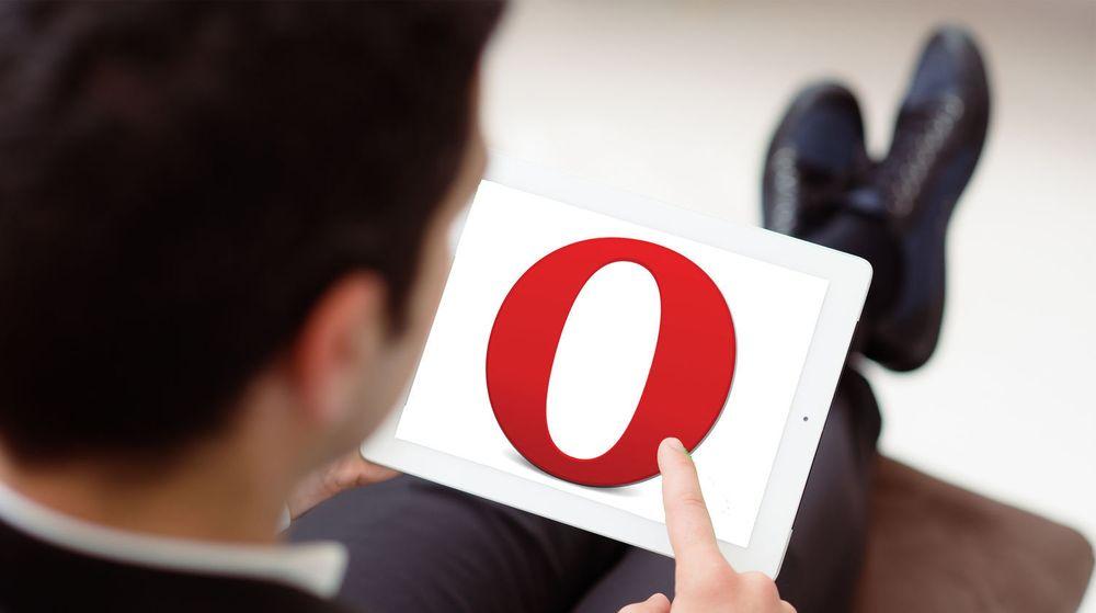 Opera 12.10 for Windows har grunnleggende støtte for berøringsskjermer.