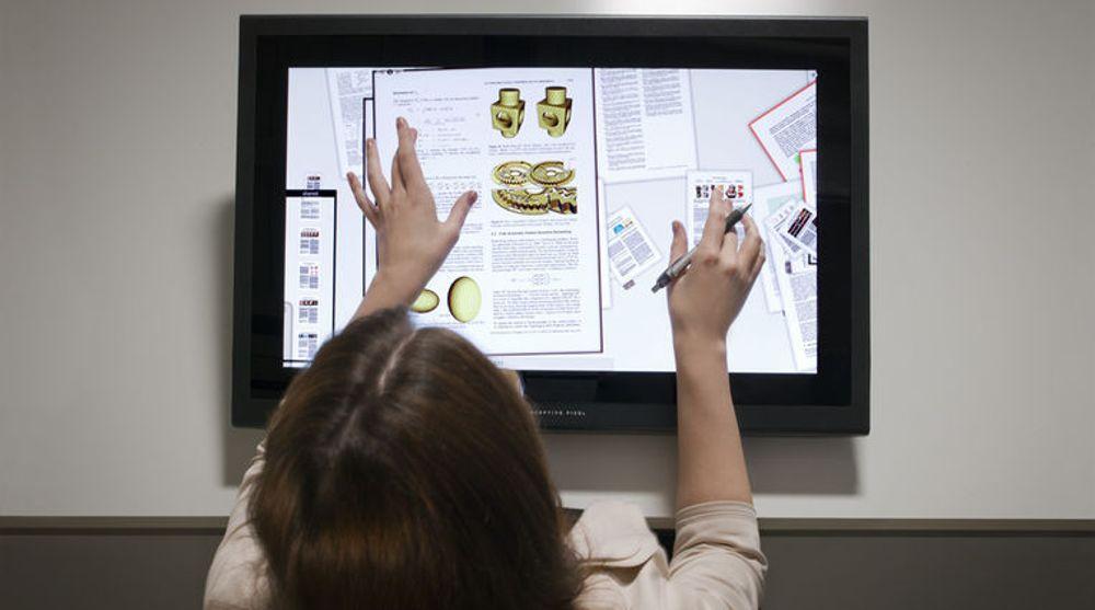 Berøringsskjermene til Perceptive Pixel kan frigjøre kreative yrker fra tastatur og mus.