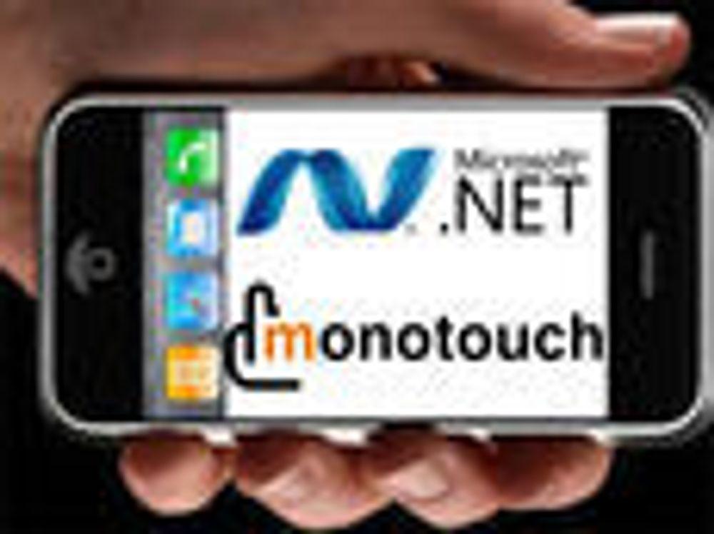 Åpner for .NET-utvikling for iPhone