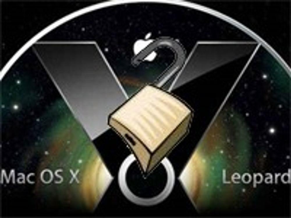 - Elendig sikkerhet i Mac OS